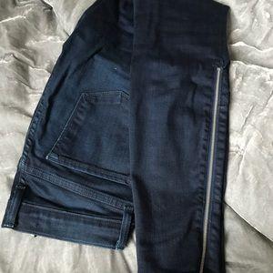 JBrand Skinny Dark Blue Jeans Sz 25